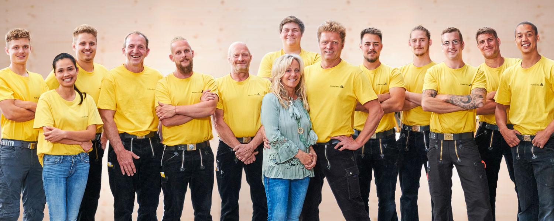 Das Team von Holzbau Goetz