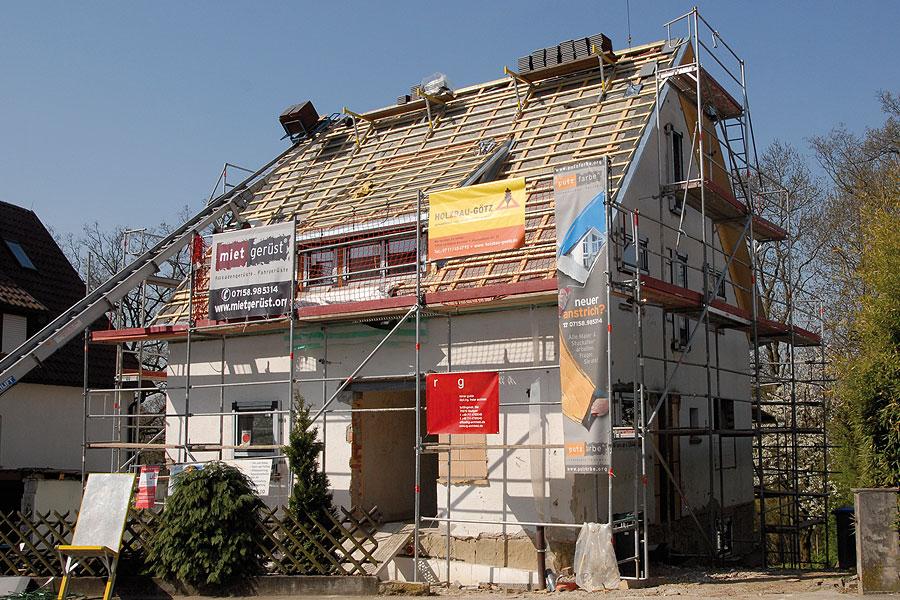 Holzbau Goetz Sanierung Dach