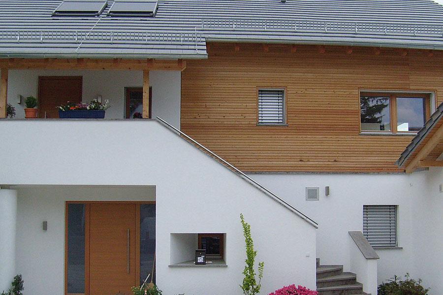 Holzbau Goetz Holzfassade