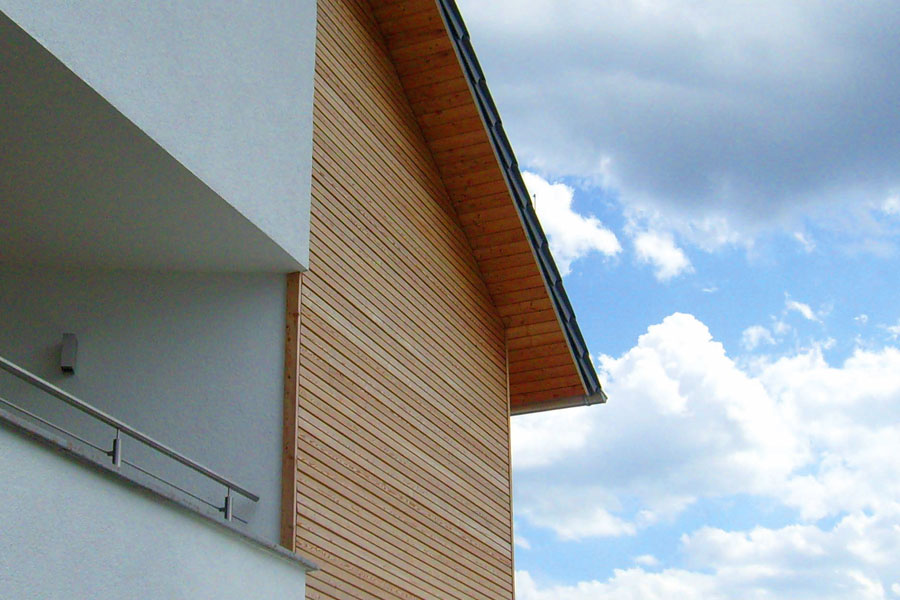 Holzfassade Holzbau Goetz