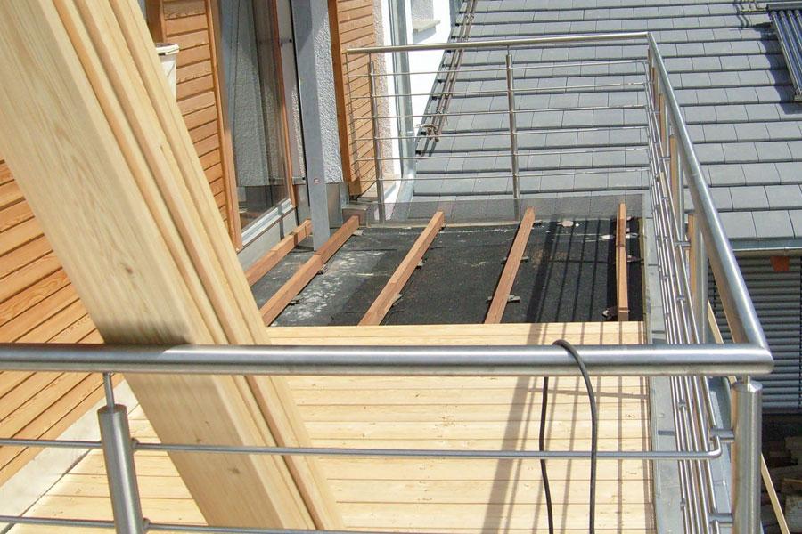 Holzbau Goetz Holzterrasse