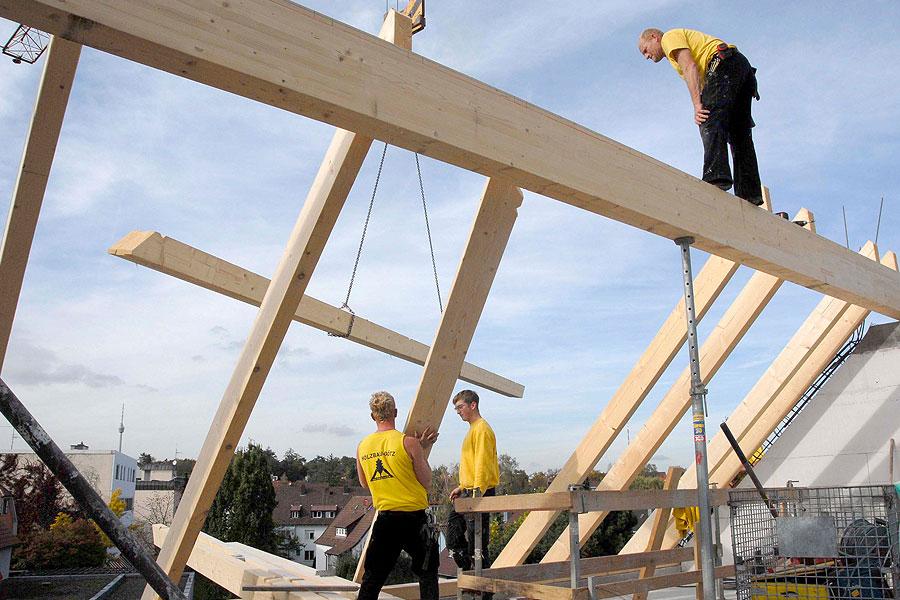 Holzbau Goetz Dachstuhl